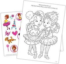 Easy coloring pages printable coloring pages coloring books learning colors kids learning cute cottage kinds of colors fancy nancy disney junior. Amazon Com Fancy Nancy Disney 48 Page Color Activity Book With Tattoos Bendon 45657 Toys Games