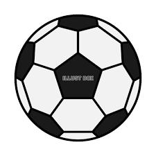 無料イラスト サッカーボールのイラスト 透過png