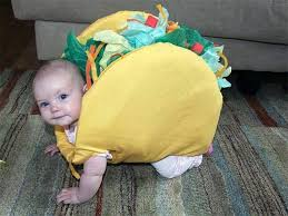 the grinch baby costume.  The Taco Baby Costumethese Are The BEST Homemade Halloween Costume Ideas For  Kids Intended The Grinch