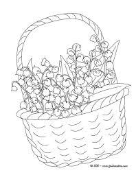 Coloriages Coloriage D U0027un Pendentif De Fleurs Fr Hellokids Comllll L