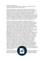 history essay collectivisation socialism anti capitalism truman doctrine essay