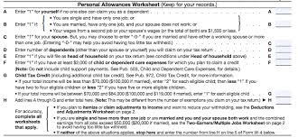 How Do Allowances Affect Withholding Filling Out Your W 4 Line By Line Peoples Income Tax