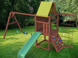 diy playset plans for kid style