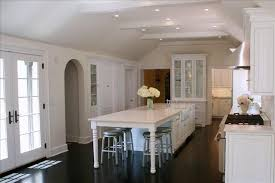 Kitchen: Traditional Alluring Narrow Kitchen Island With Seating Widaus  Home Design At of Narrow Kitchen