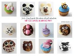 Cupcake decorations for teen parties