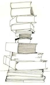 stack of books tattooed on my spine last pinner