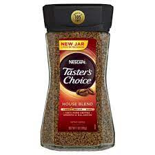 Taster's choice coffee is instant, which saves time and eliminates the need for a coffee pot. Nescafe Taster S Choice House Blend Light Roast Instant Coffee 7oz Target