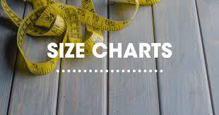Size Chart Sierra