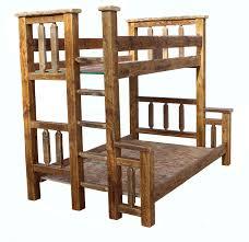 barn wood bunk bed tenon twin