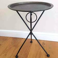 round metal side table round metal side table round metal patio side table