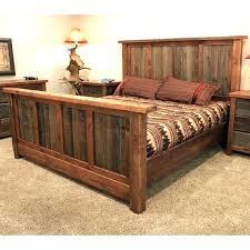 King Size Bed Frame Ideas Hand Built King Sized Wood Platform Bed ...