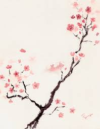 cherry blossom painting cherry blossom 3 by rachel dutton