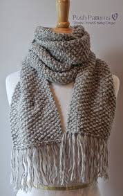 Free Easy Knitting Patterns New Beginner Knitted Scarf Patterns To Try Out Cottageartcreations