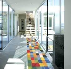 contemporary hall runners modern runner rugs design within idea 5 modern runner rugs mid century modern runner rugs