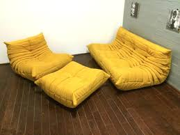 Ligne Roset Togo Sofa Leather Used For Sale Ro Reproduction. Used ...