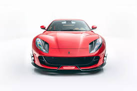 Changes to the body are all in carbon fibre and include both the front spoiler and hood. Ferrari 812 Superfast Softkit By Mansory