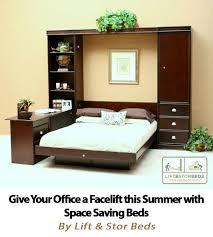 murphy bed home office. give your home office a facelift this summer with transforming murphy wall bed