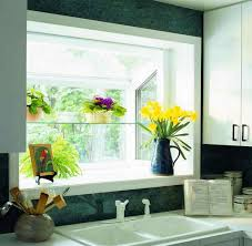 Garden Window For Kitchen Kitchen With White Undermount Sink And Garden Window Featured
