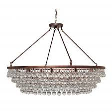 celeste extra large glass drop crystal chandelier oil rubbed bronze 12 lights