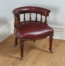 leather antique wood office chair leather antique. Victorian Oak Burgundy Red Leather Desk Chair Antique Leather Antique Wood Office Chair