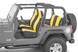 diver down neoprene seat covers 97 06 jeep wrangler tj