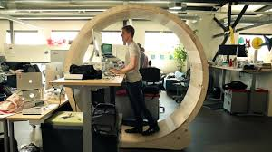 office table with wheels. enjoyable standing office desk innovative decoration hamster wheel table with wheels d