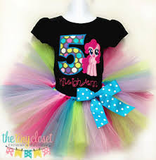 Little Pony Shirt Design Personalized My Little Pony Birthday Tutu Set Pinkie Pie