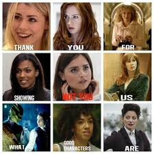 Thank You Not Thank You For Showing Us What Good Characters Are Not You