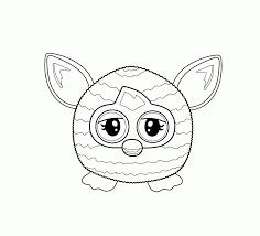 25 Idee Kleurplaat Furby Mandala Kleurplaat Voor Kinderen