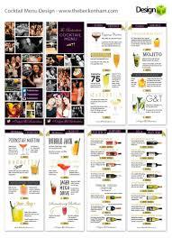 Web Designer Beckenham Revised Menu Designed For Trendy Cocktail Bar The Beckenham