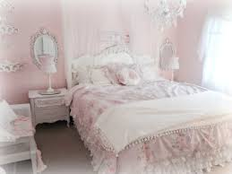... Fascinating Images Of Chic Bedroom Design And Decoration Ideas :  Incredible Girl Light Pink Chic Bedroom ...