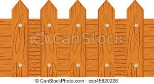 wood fence drawing. Wooden Fence On White Background - Csp45820226 Wood Drawing