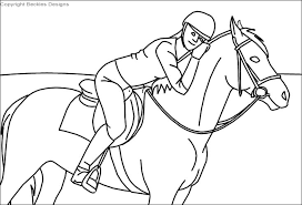 Clydesdale Jumping Coloring Pages Hore Big Horse Horses Chronicles
