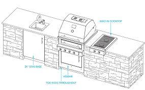 ... Shocking Ideas Outdoor Kitchen Design Plans On Home ...
