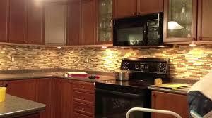 Kitchen With Stone Backsplash Backsplash In A Flash Youtube
