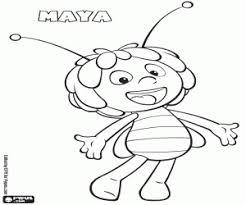 Kleurplaten Maya De Bij Maya The Bee Kleurplaat