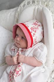 Baby Bonnet Pattern Delectable Sew Beautiful Reversible Baby Bonnet Tutorial Sew Mama Sew