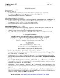 Chemical Engineer Resume Classy Cory Klemashevich Resume PhD Chemical Engineering
