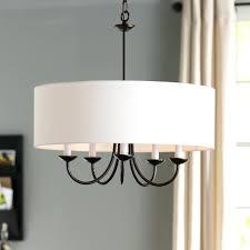 hermione 5 light drum chandelier mills 5 light drum chandelier reviews drum light chandelier black chandeliers