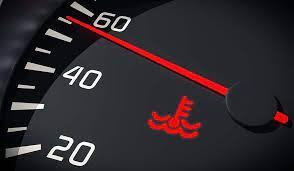engine rature warning light