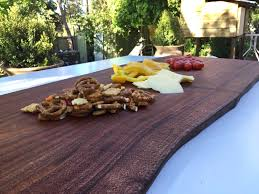wooden serving board rustic wood silky oak large bread with regard to cheese ideas