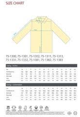Majestic Jacket Size Chart Safety Jackets Stay Visible On The Job Add Your Logo