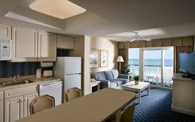 one bedroom hotel myrtle beach. one bedroom suite kitchen/living area hotel myrtle beach m