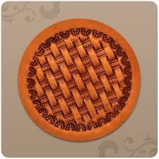 circle regular basket weave
