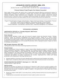 Entry Level Finance Resume Samples Awesome Senior Financial Analyst