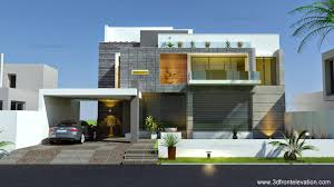 D Front Elevationcom Beautiful Modern Contemporary House - Modern apartment building elevations