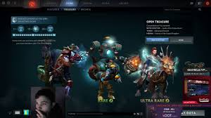 dota 2 stream clip bsj gets lucky opening collector cache s the