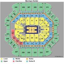 Barclays Arena Seating Chart 39 Rational Barclays Center 3d View