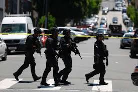 Sf Police Swarm Potrero Hill Intersection After Mistaken