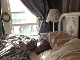 Review of Anthropologie Rosette Quilt - 5 Year Update - Hawk Hill & Waking up under the rosette quilt with a horse grazing in the lawn was a  delight Adamdwight.com